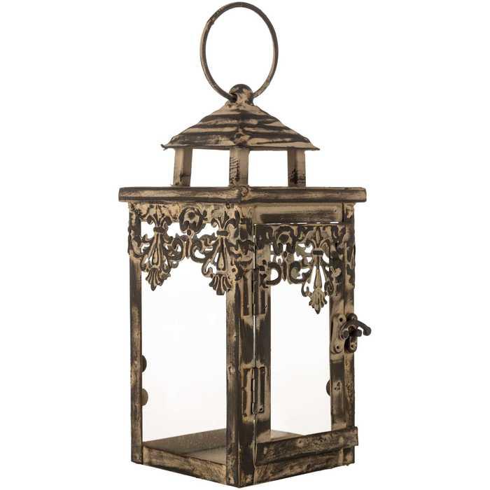 Brown Square Metal Mini Lantern Hobby Lobby 114645